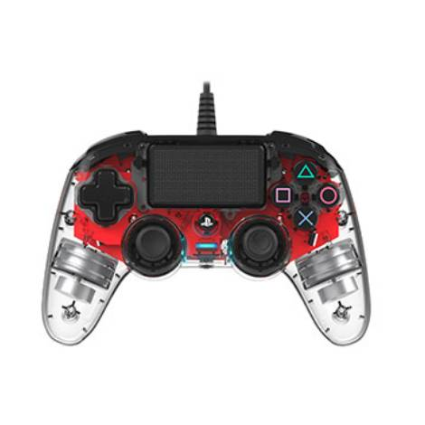 Nacon Wired Controller Red Crystal (PS4)
