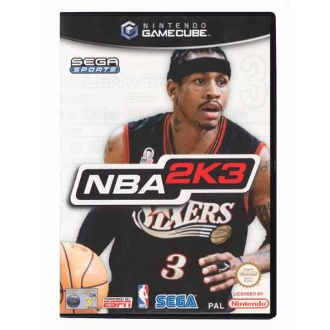NBA 2K3  (Gamecube)  (CD Μονο)