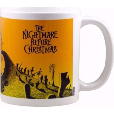 NBC - Nightmare Before Christmas (Graveyard Scene) Heat Changing Mug (SCMG24622)