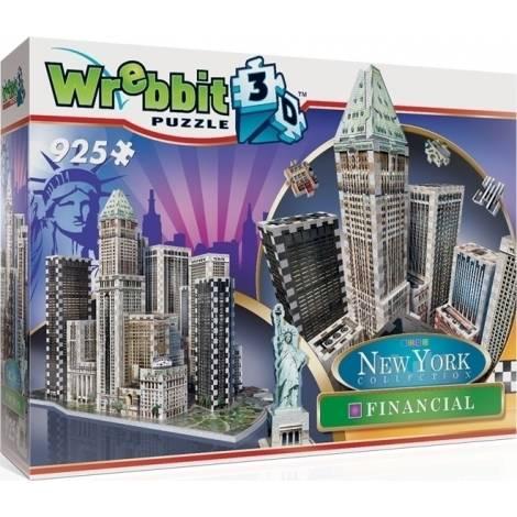 New York Collection: Financial 925pcs (W3D-2013) Wrebbit 3D Puzzle