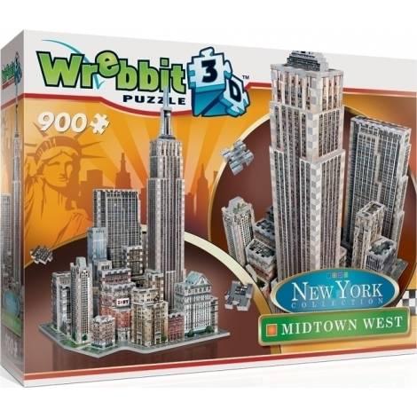 New York Collection: Midtown West 900pcs (W3D-2010) Wrebbit 3D Puzzle