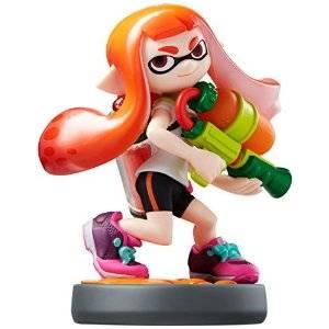 Nintendo Amiibo Splatoon  - Inkling Girl