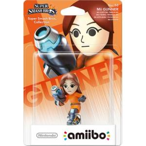 Nintendo Amiibo Super Smash Bros Mii Gunner 50