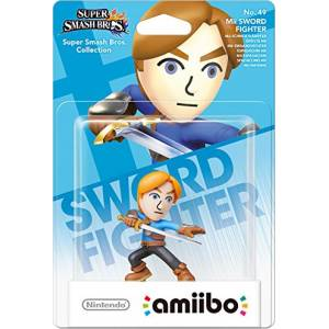 Nintendo Amiibo Super Smash Bros Mii Sword Fighter 49