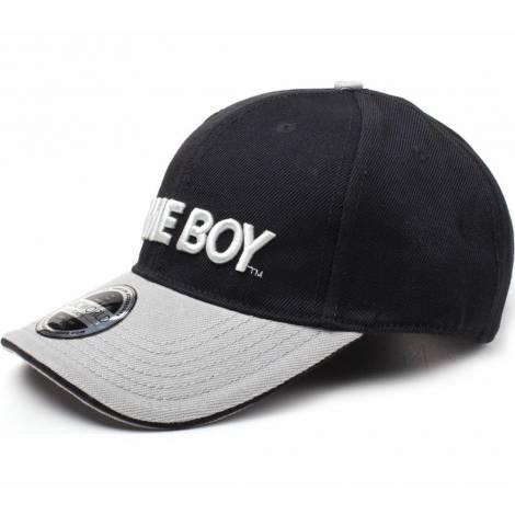 Nintendo - Black/Grey GameBoy Logo Curved Bill Cap (BA067775NTN)