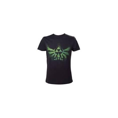 Nintendo - Green Zelda Logo T-Shirt - Size XXL (TS240920NTN-2XL)