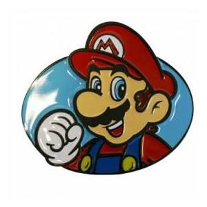 Nintendo Mario Design Belt Buckle