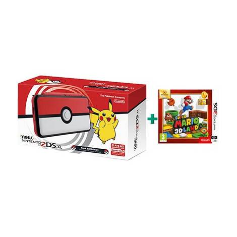 NINTENDO NEW 2DS XL POKEBALL EDITION (CONSOLE) & MARIO 3D LAND