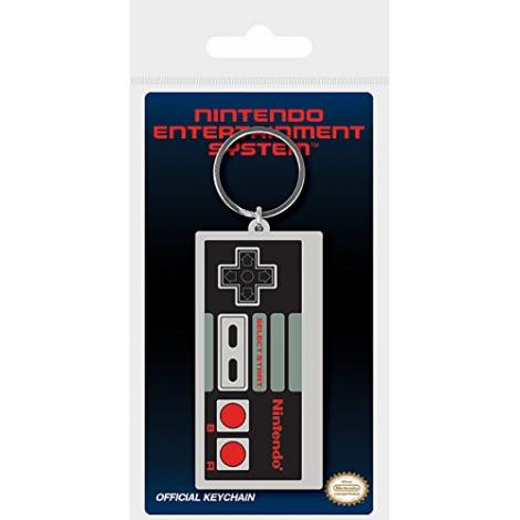 Nintendo - Nintendo (NES Controller) Rubber Keychain (RK38706C)