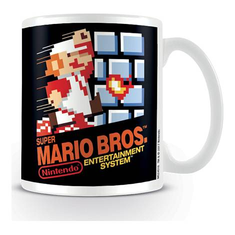 Nintendo - Super Mario (NES Cover) Coffee Mug (MG24516)