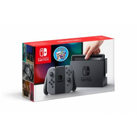 NINTENDO SWITCH CONSOLE SPORTS PACK (GREY JOY-CON) GR