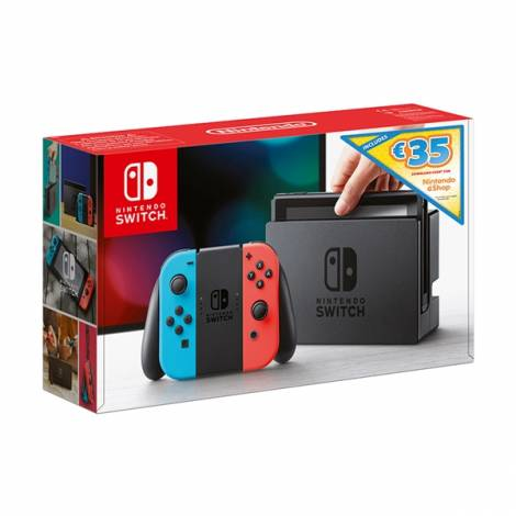 Nintendo Switch Red & Blue Download Code for Nintendo eShop Credit (35€)  Κονσόλα