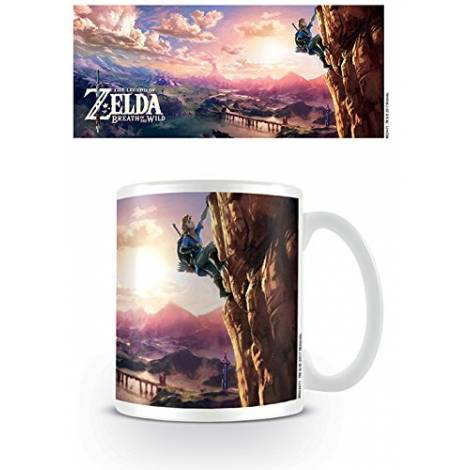 Nintendo - The Legend Of Zelda: Breath Of The Wild (The Climb) Coffee Mug (MG24471)