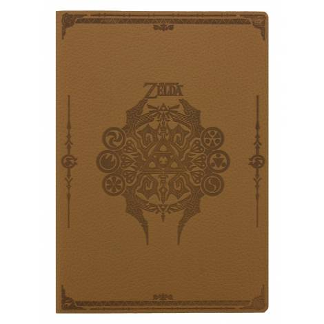 Nintendo - The Legend Of Zelda (Sage Symbols) Flexi-Cover A5 Notebook (SR72521)