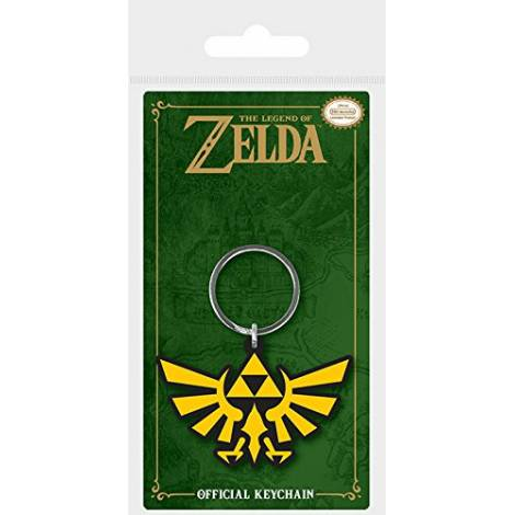 Nintendo - The Legend Of Zelda (Triforce) Rubber Keychain (RK38700C)