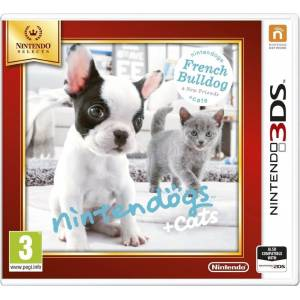 Nintendogs + Cats: French Bulldog & New Friends - Selects (NINTENDO 3DS)