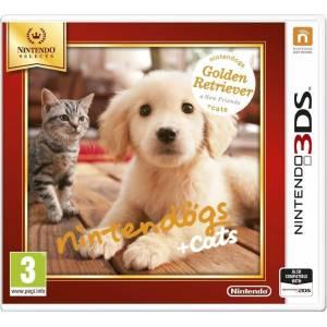 Nintendogs + Cats: Golden Retriever & New Friends - Selects (NINTENDO 3DS)