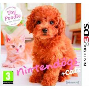 Nintendogs + Cats: Toy Poodle & New Friends - Select (NINTENDO 3DS)