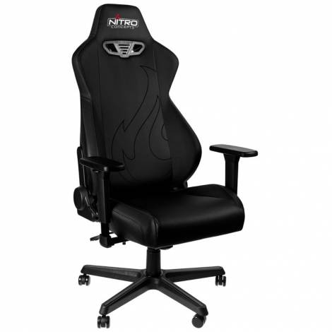 NITRO CONCEPTS S300 EX GAMING CHAIR – STEALTH BLACK