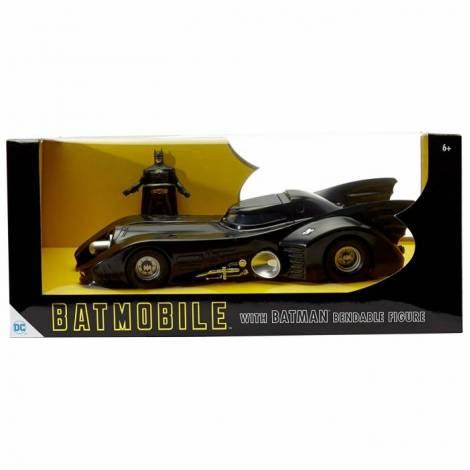 NJ Croce Φιγούρα Batman & Batmobile DC 1989