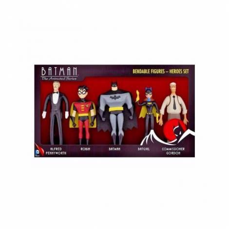 NJ Croce Σετ Φιγούρες Batman (5 σχέδια)