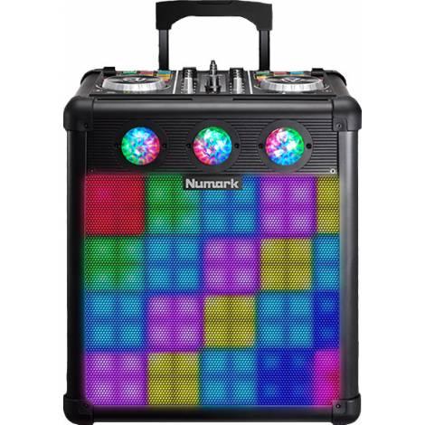 NUMARK Party Mix Pro DJ Controller με Ηχείο 80W (peak)