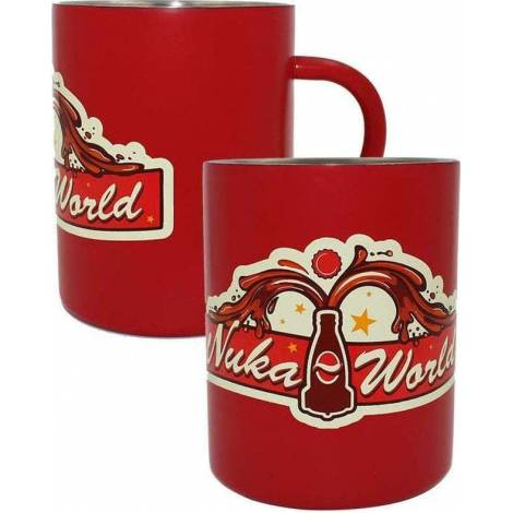 Numskull Fallout 76 - Nuka World Steel Mug