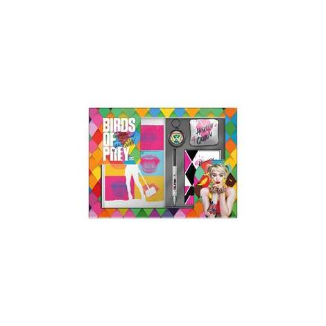 Numskull: Official Birds of Prey - GiftBox Set(includes Keychain, Notebook, Pen, Socks, Coasters)