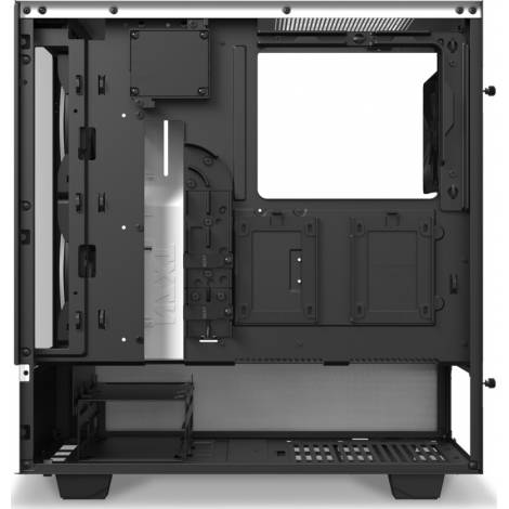 NZXT H510 ELITE WHITE - Tempered Glass -Smart 2nd Gen - RGB Fan/Led - Vertical GPU Mount - ATX Case