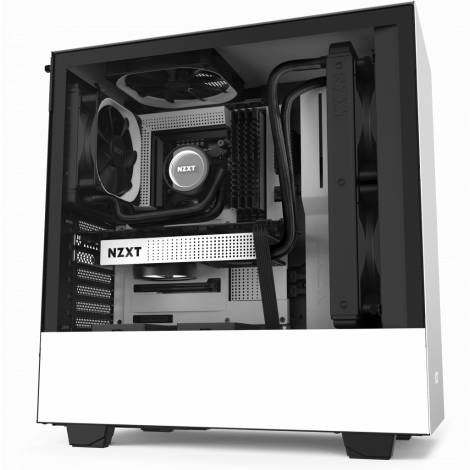 NZXT H510 White - Tempered Glass