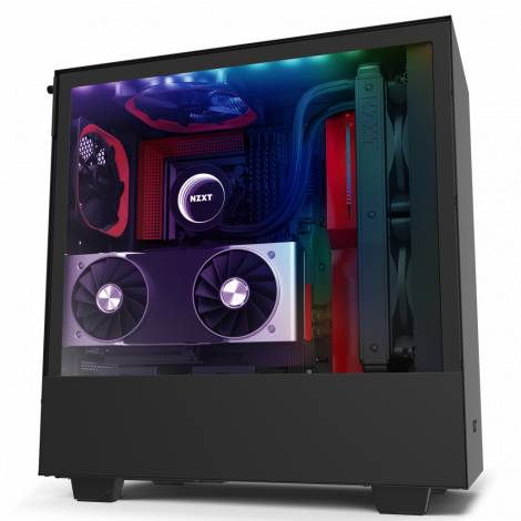 NZXT H510i Black Red - Tempered Glass -Smart 2nd Gen