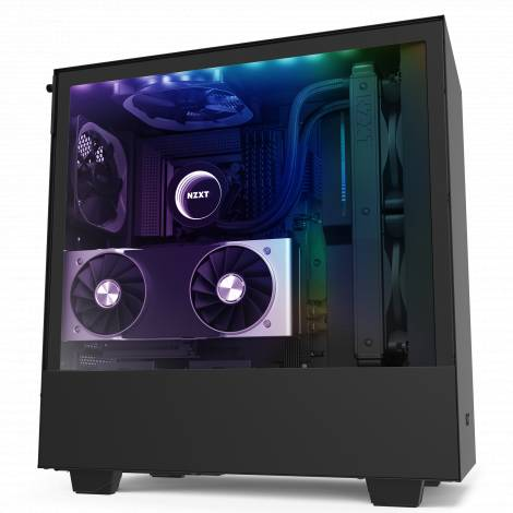 NZXT H510i Black - Tempered Glass -Smart 2nd Gen