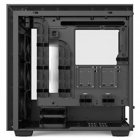 NZXT H700i Mid Case - RGB - Tempered Glass - CAM Smart Device - Matte White (CA-H700W-WB)