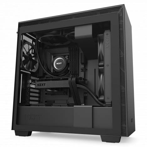 NZXT H710 BLACK - Tempered Glass - 272mm EATX PC Case