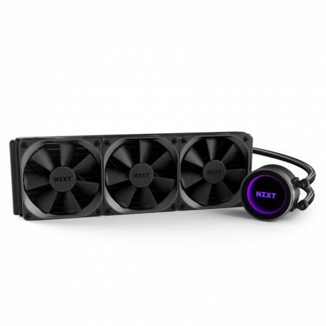NZXT Kraken X72 (360mm) Variable Speed Liquid Cooler (RL-KRX72-01)