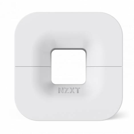 Nzxt Puck White - Cable Management & Headset Mounting Solution - Magnetic (BA-PUCKR-W1)