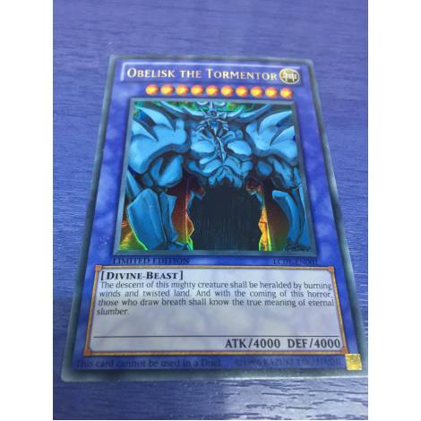 OBELISK THE TORMENTOR LC01-EN001 Ultra Rare