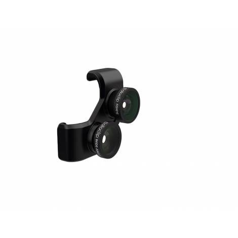 OLLOCLIP 4-in-1 LENS GALAXY S5 - BLACK (OCEU-GS5-FW2M-BB)