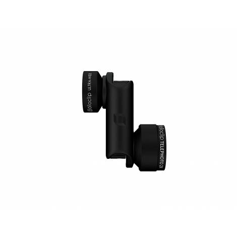 OLLOCLIP ACTIVE LENS IPHONE 6\6S - 6\6S PLUS - BLACK (OC-0000126-EU)