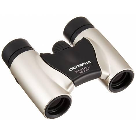 Olympus 8 x 21 RC II Binoculars - Champagne Gold (N3852292) και θήκη