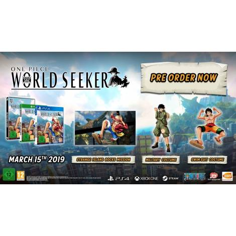 ONE PIECE WORLD SEEKER Collector's (PS4)