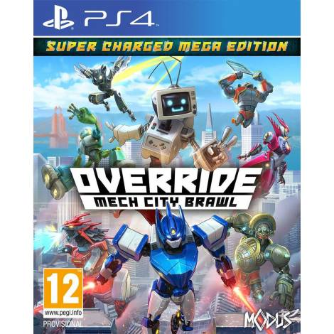 OVERRIDE : MECH CITY BRAWL SUPER CHARGED MEGA EDITION (PS4)