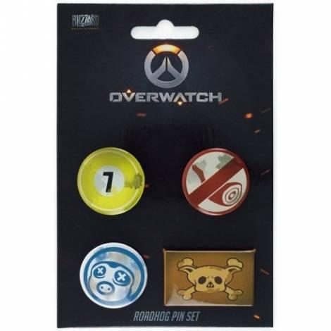 OVERWATCH - ROADHOG PIN SET (GE3087)