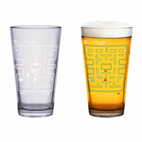 PAC-MAN COLOUR CHANGE PINT/BEER GLASS