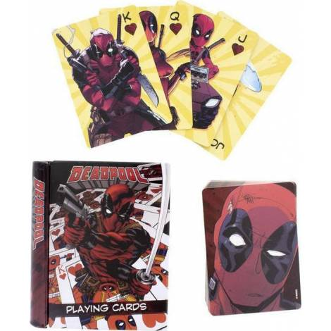 Paladone Deadpool - Playing Cards (Pp5168dpl)
