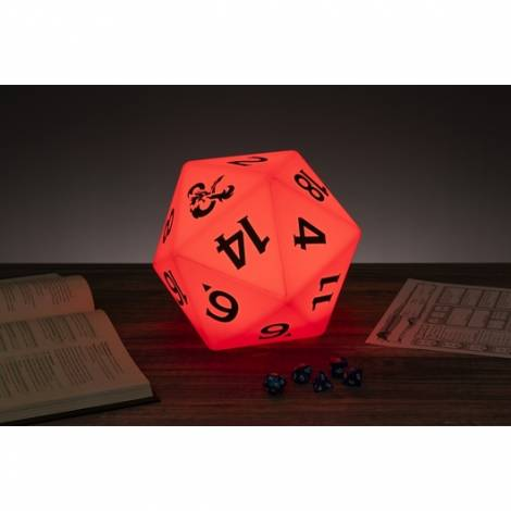 Paladone Dungeons & Dragons - D20 Dice Multi Color Light (PP6639DD)