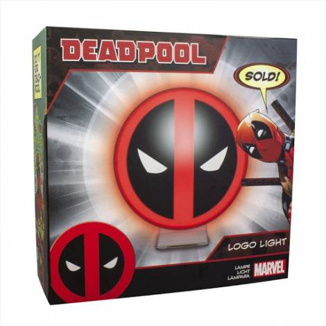 Paladone Φωτιστικό Deadpool Logo (Marvel Comics) (PP5164DPL)