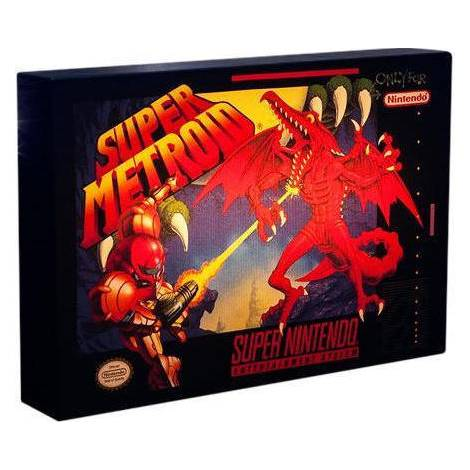 Paladone Products Nintendo Super Metroid - Luminart (Pp3957nn)