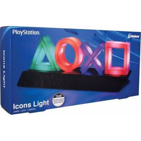 PALADONE PRODUCTS Playstation - Icons Light Official Licensed Product (PP4140PS)