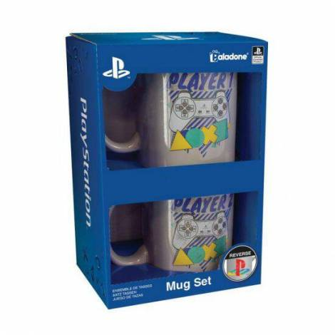 Paladone Σετ Κούπες PlayStation 330ml (PP4922PS)
